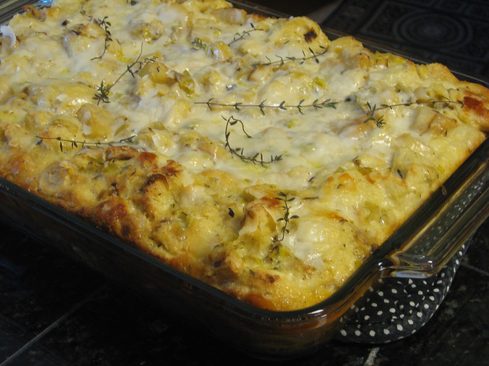 This family favorite, roasted parsnip bread pudding, was decadent with ...