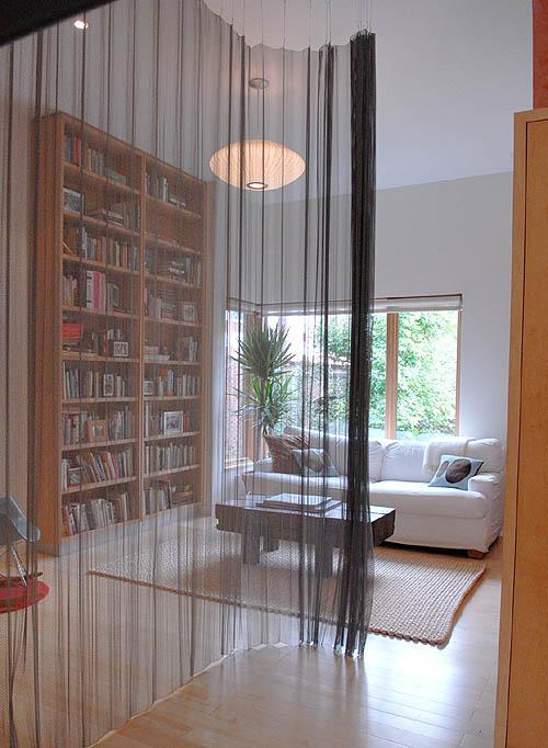 Cortinas para dividir ambientes privacidad y versatilidad design harmony - Cortinas para pasillos ...