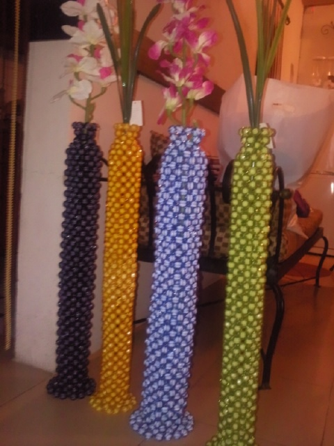 Whyte Pearls Jewelry And Bead Making Speaker Shaped Vases