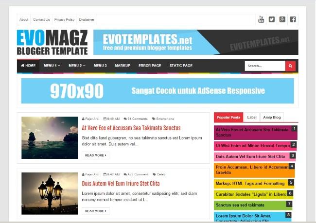 Download Template Evo Magz Mas Sugeng Gratis