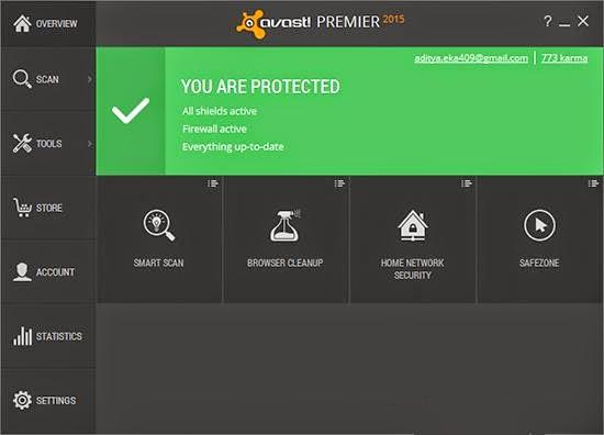 Avast! Premier 2015 Screenshot by http://jembersantri.blogspot.com