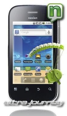 Nexian Android Ultra Journey A891