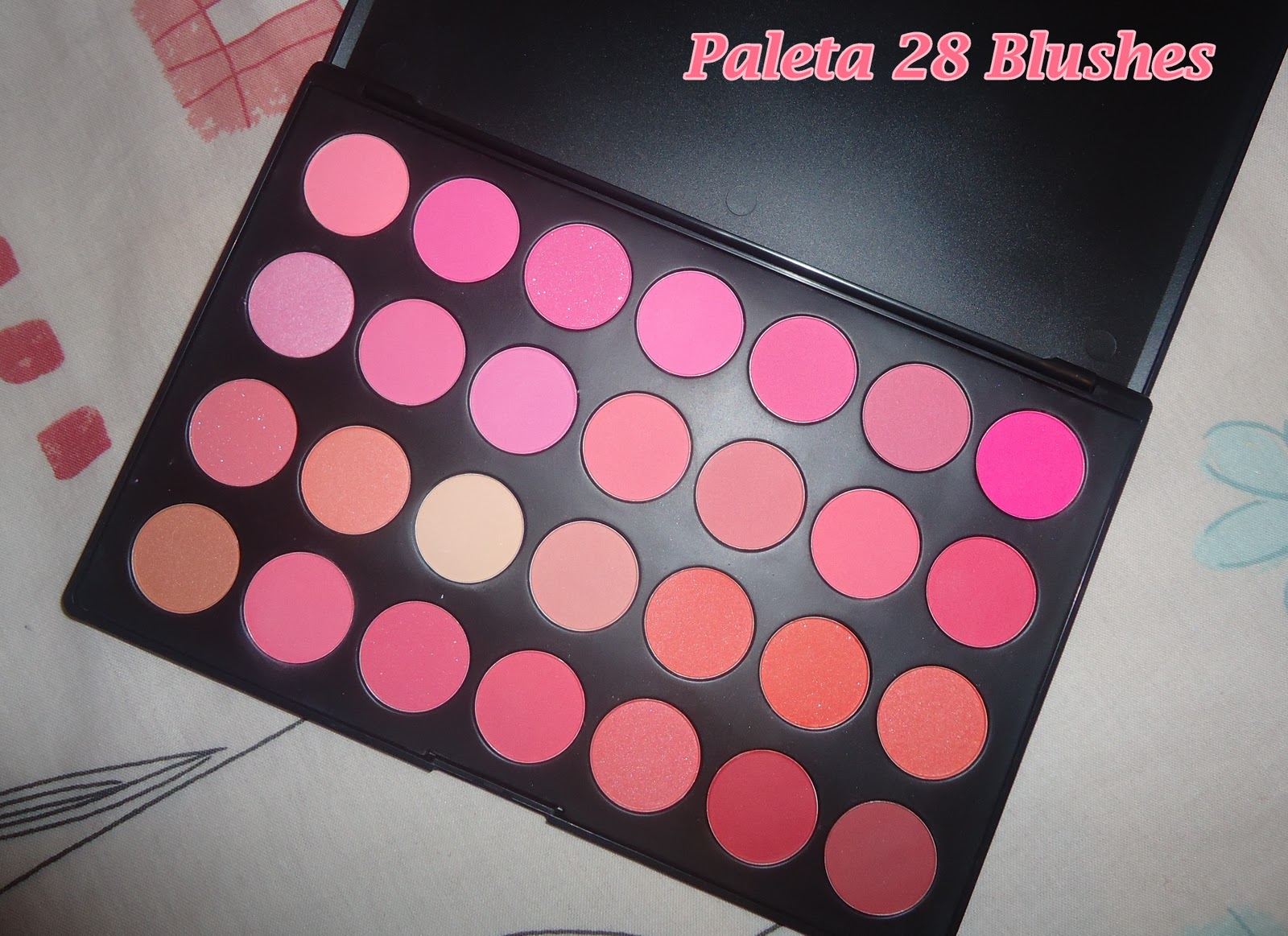 paleta 28 blushes