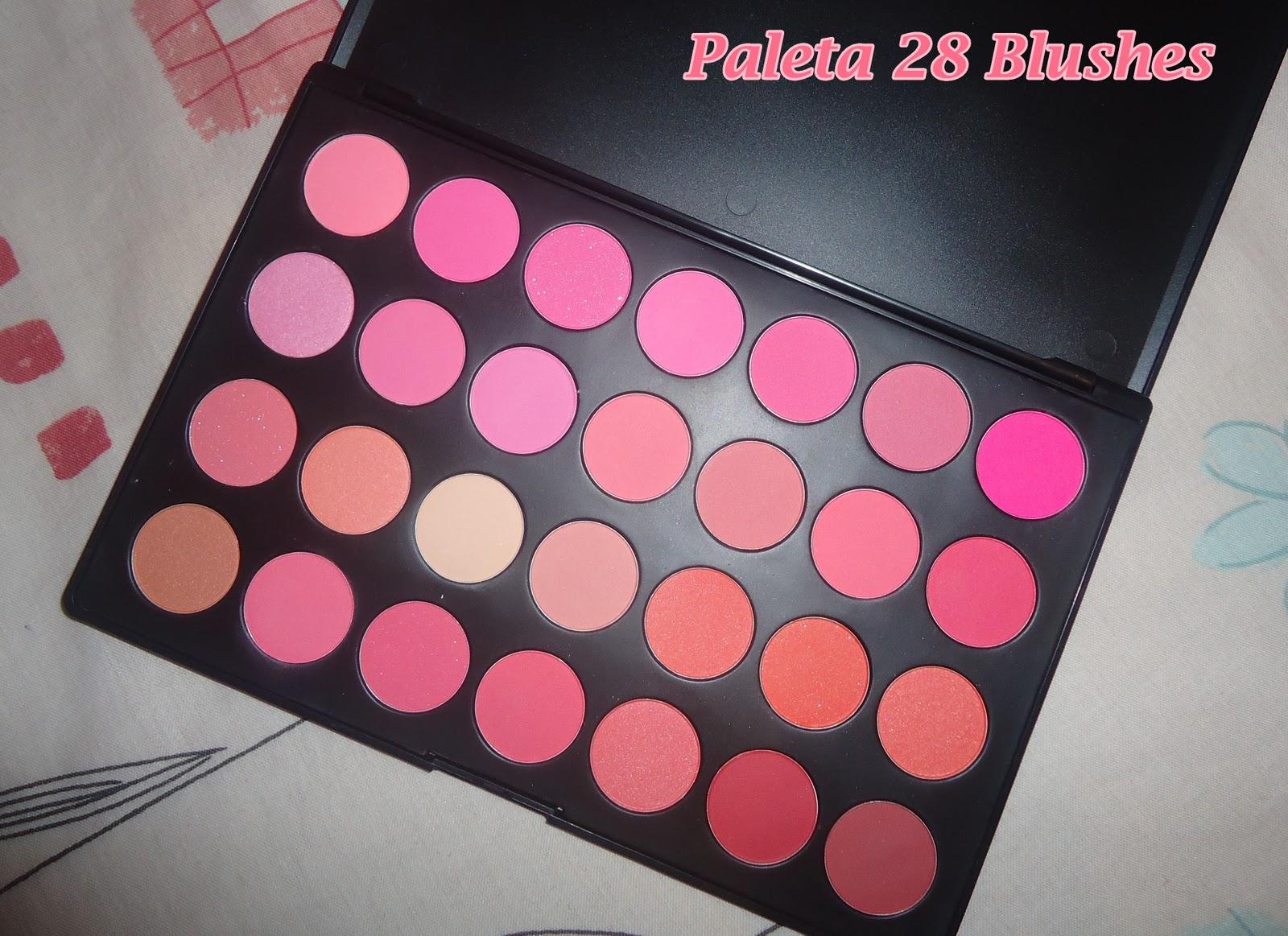 paleta 28 blushes