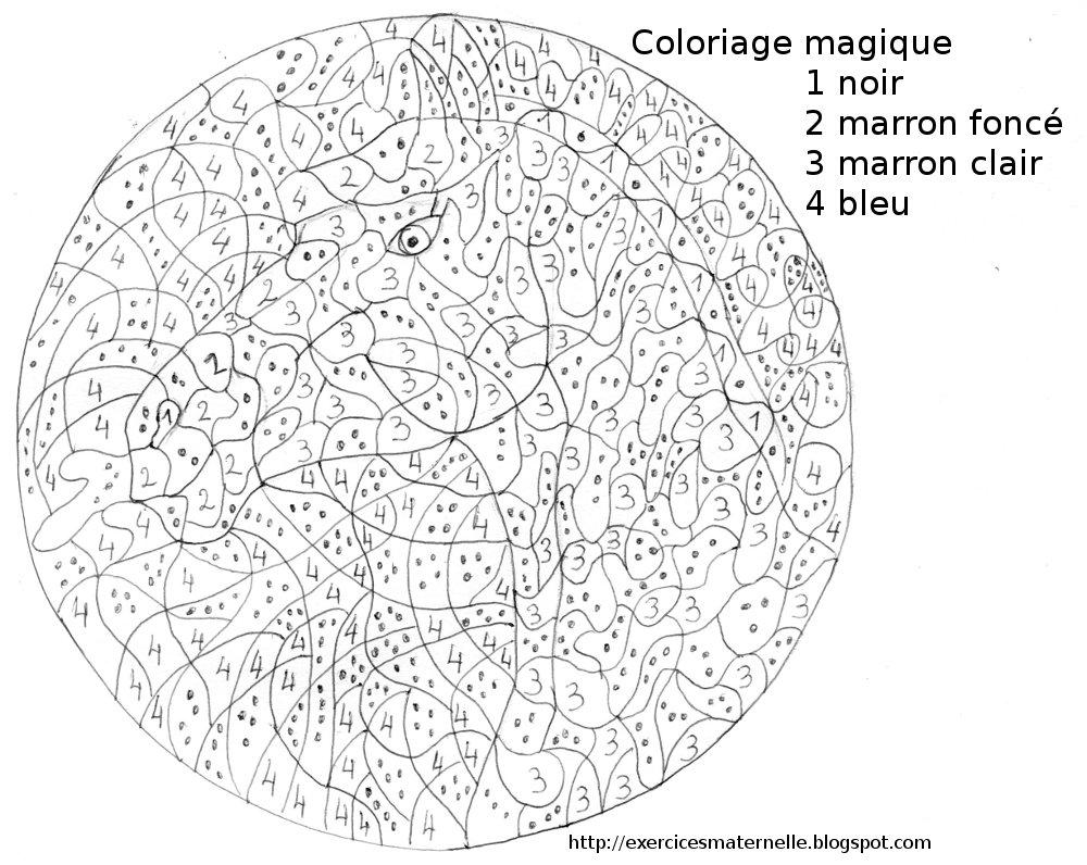 Maternelle coloriage magique un cheval - Coloriage de chevaux en ligne ...