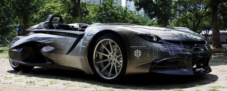 Prototipe Mobil SV-1 (Source: Blogspot.com)