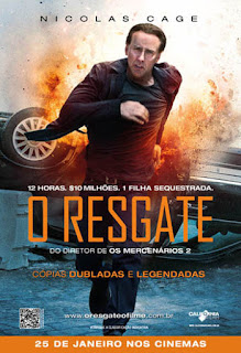 "Poster do filme ""O Resgate"""
