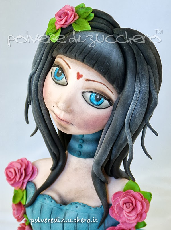 Cake Design Busto Arsizio : Modelling figura di donna ispirata a Santoro s Eclectic ...