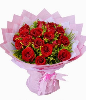 Send China Rose Flowers Online and price