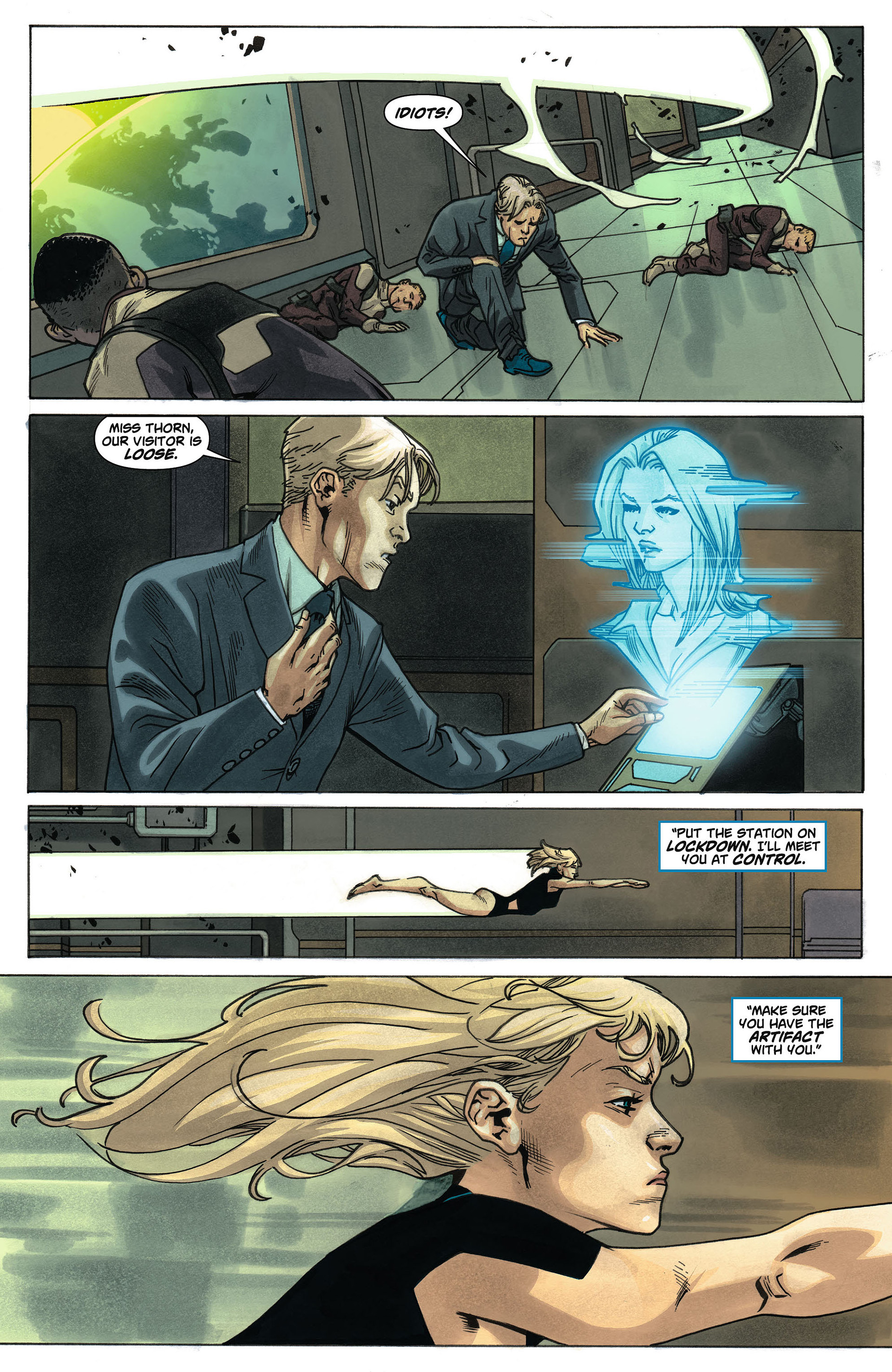 Supergirl (2011) Issue #4 #6 - English 9