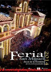PROGRAMACIÓN FERIA SAN MIGUEL ARCOS 2014