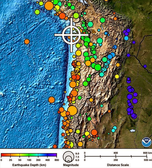 Massive 8.2 Quake Hits Near Chile Coast, Tsunami Warning Issued; Residents Evacuating