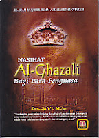 toko buku rahma: buku nasihat al-ghazali bagi para penguasa, pengarang drs. safe;i m.ag, penerbit pustaka setia