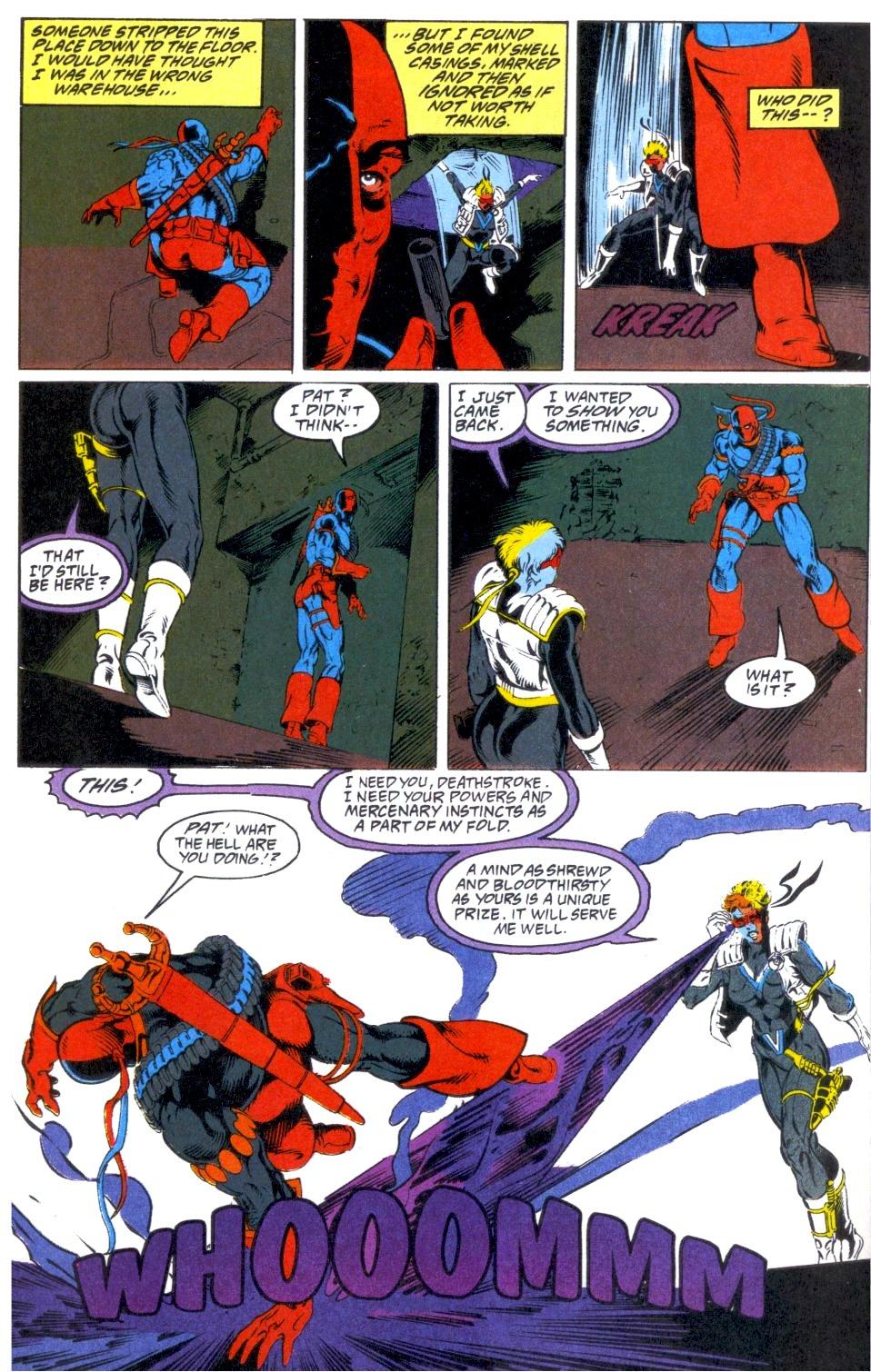Deathstroke (1991) Annual 1 #1 - English 31