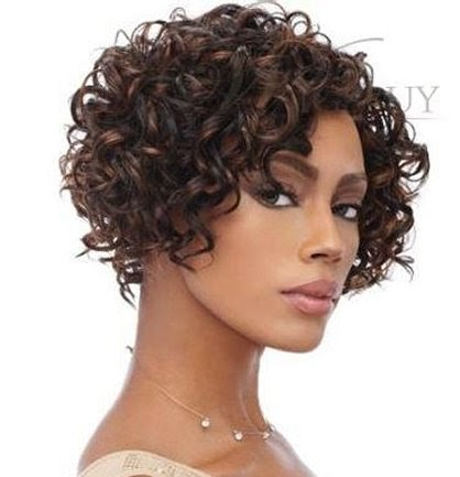 Short Bob Hairstyles and Haircuts for Black Women 2016