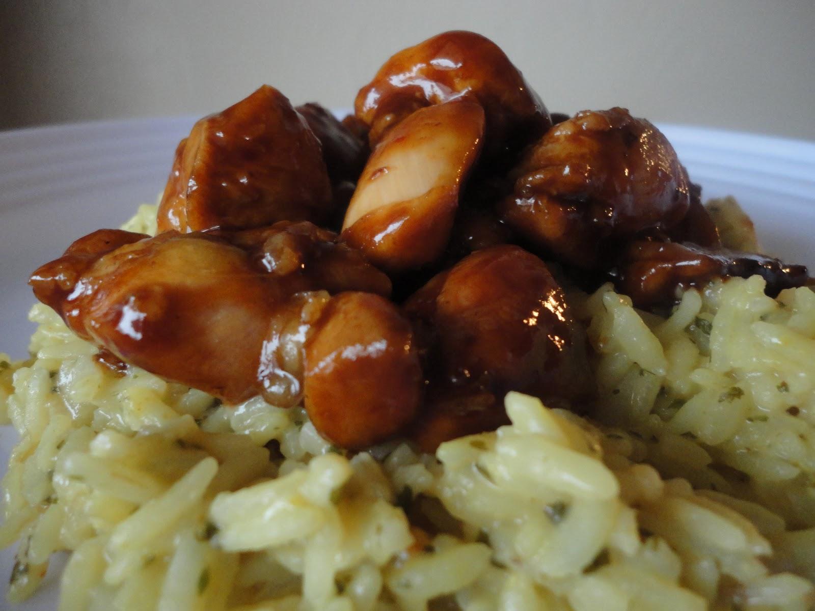 Tnt-cook: Bourbon Chicken