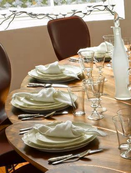 Wooden Table Modern Style Trendy Dining Table