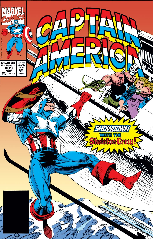 Captain America (1968) Issue #409 #358 - English 1