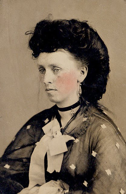 Extreme Daguerrotype Hair Styles 1850s 1870s Damn Cool