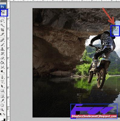cara edit foto dengan menggabungkan foto satu ke foto lain