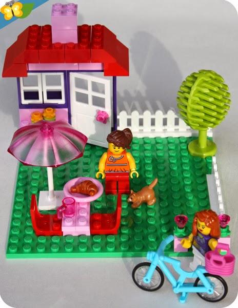 La valise de construction fille - LEGO Juniors® (easy to build) n°10660