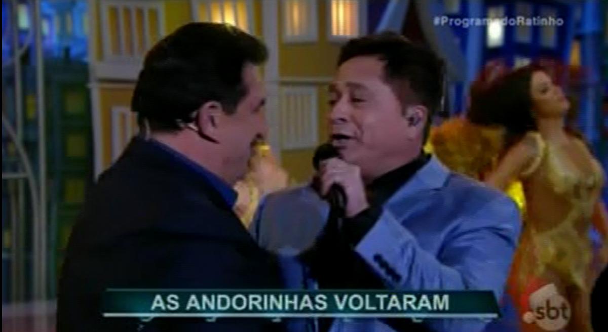 CABARE  Leonardo Eduardo  Costa no programa do Ratinho 21/12/2016