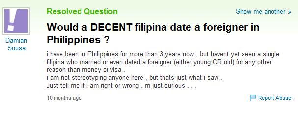 Would you date a foreigner