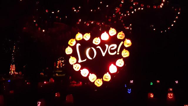 Love Heart Jack O'Lantern