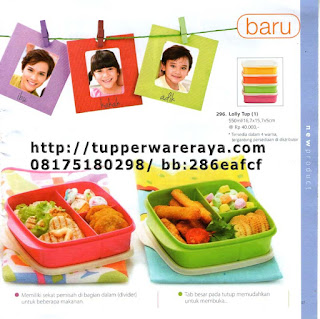 TupperwareRaya-Katalog Tupperware Reguler 2013, lolly tup