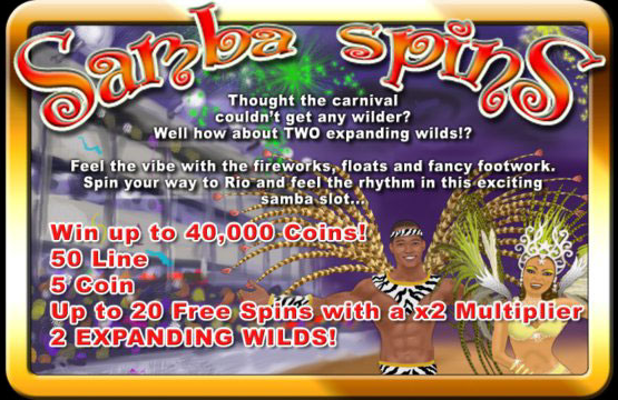 Samba Spins Video Slot