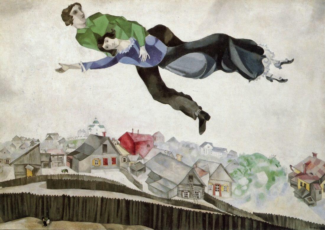 Lettere dalla fine del mondo marc chagall sulla citta 39 for Una citta sulla garonna
