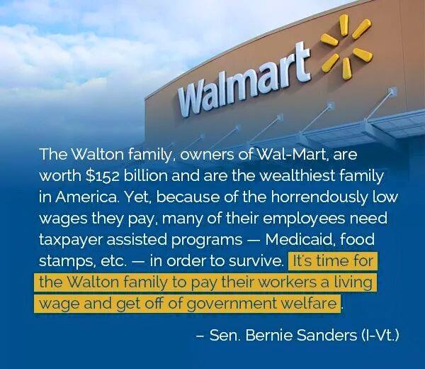 Waltons' Wealth