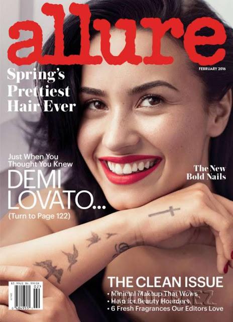 Actress, Singer, Model, @ Demi Lovato - Allure. February 2016