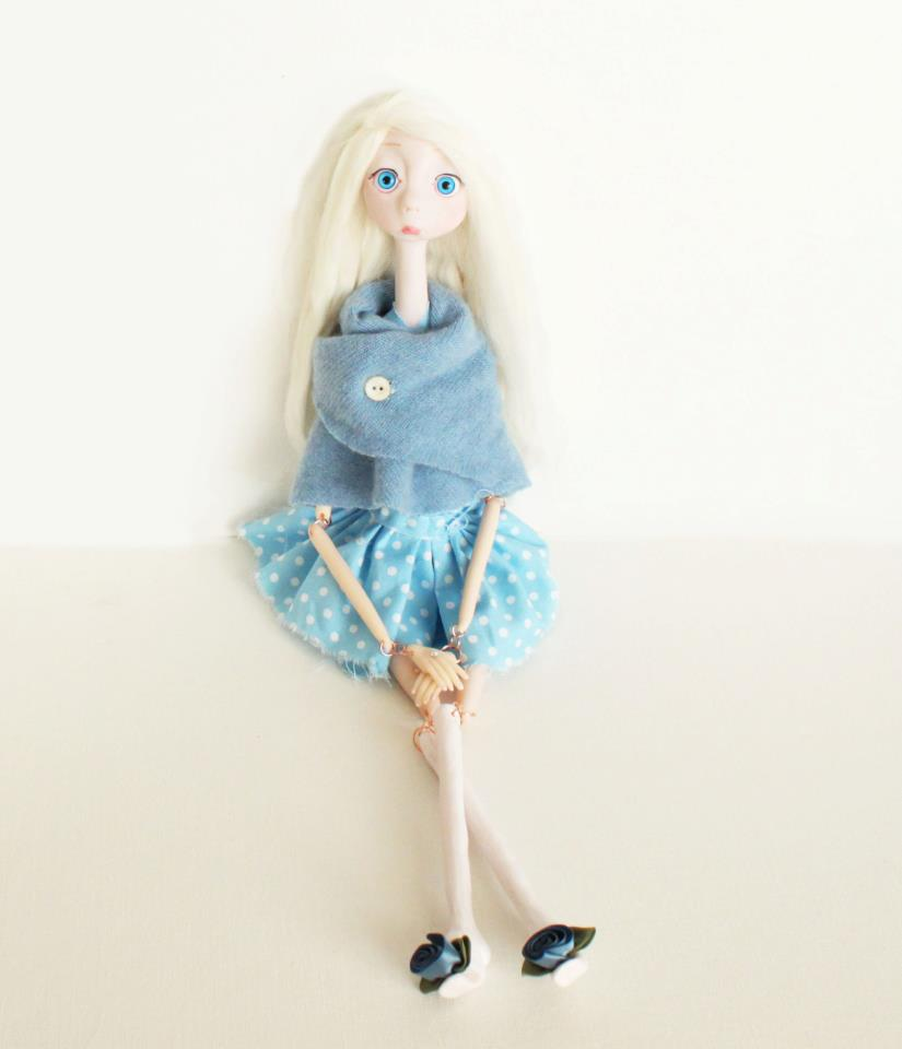 Art Dolls Only: Member Spotlight: Amber Calabrese of Ladybug Dreamland