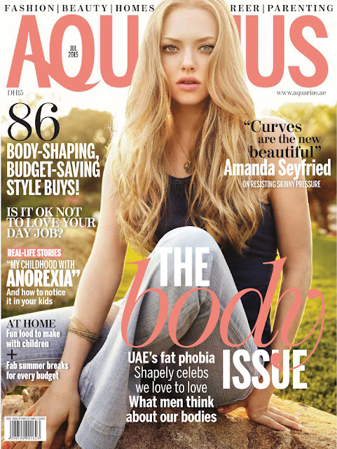 Actress, Singer @ Amanda Seyfried - Aquarius, July 2015