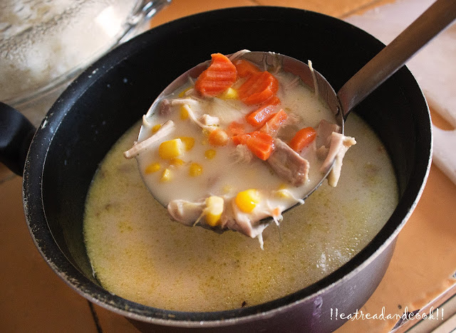 easy and simple sweet corn soup recipe