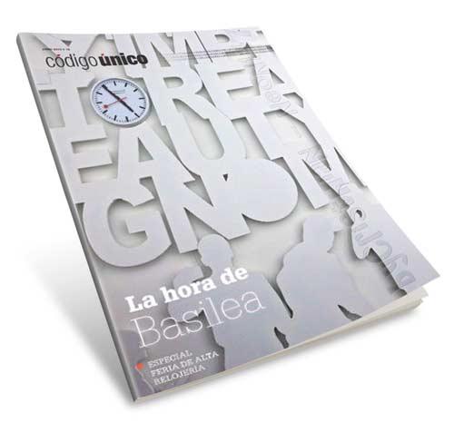 Revista Código Único (Junio 2013) ESPAÑOL – La hora de Basilea, Especial feria de alta relojería (va