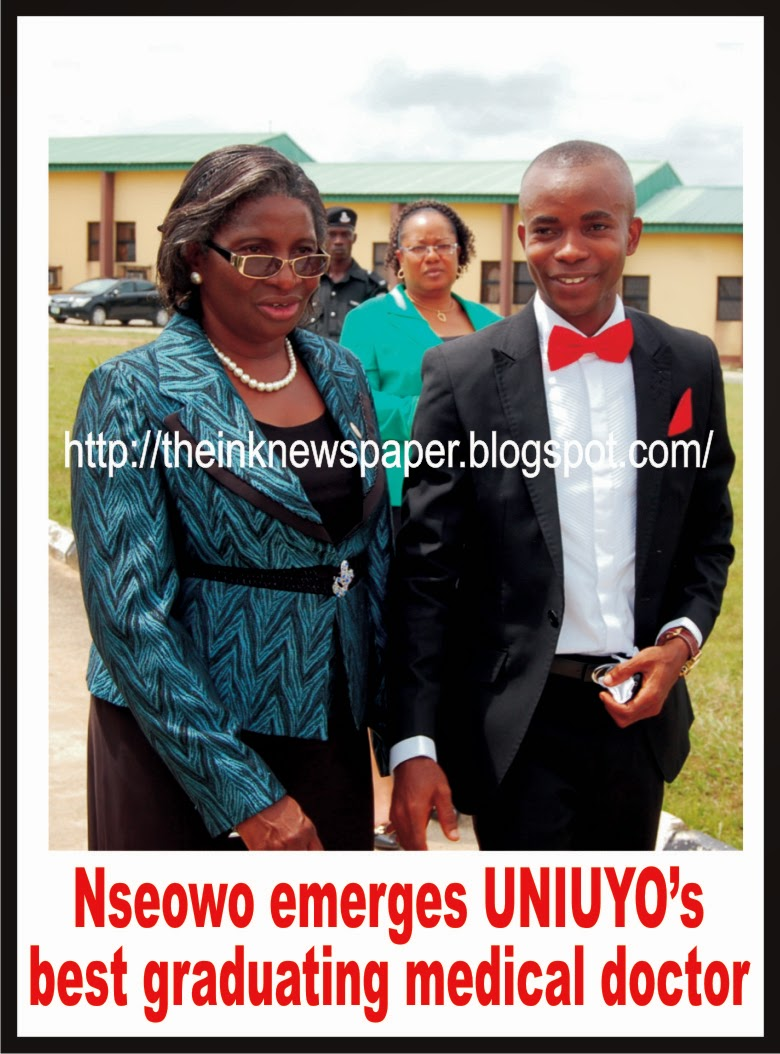 Nseowo emerges UNIUYO's best graduating medical doctor