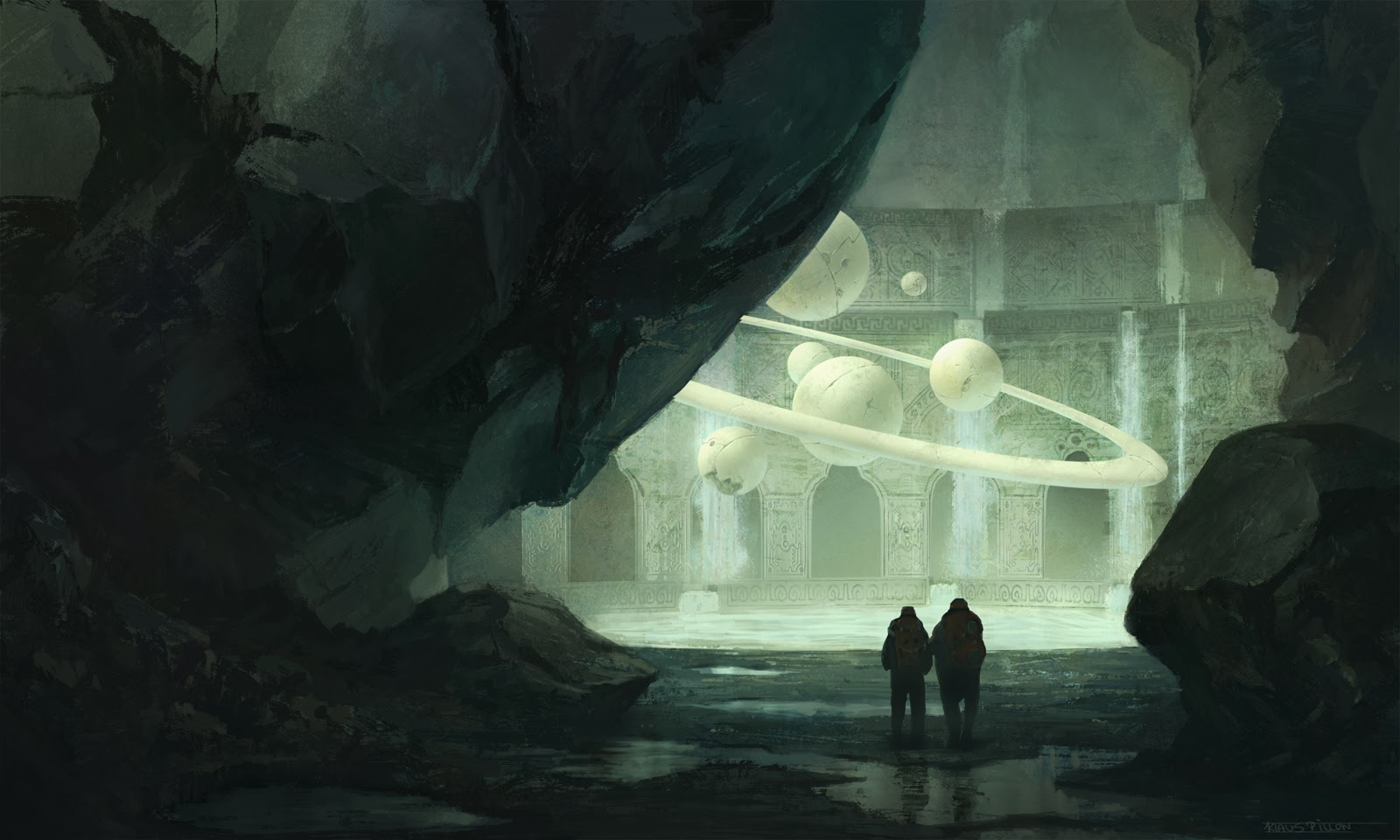 Klaus Pillon's art