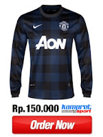 Jersey MU Away Long Sleeve 13-14