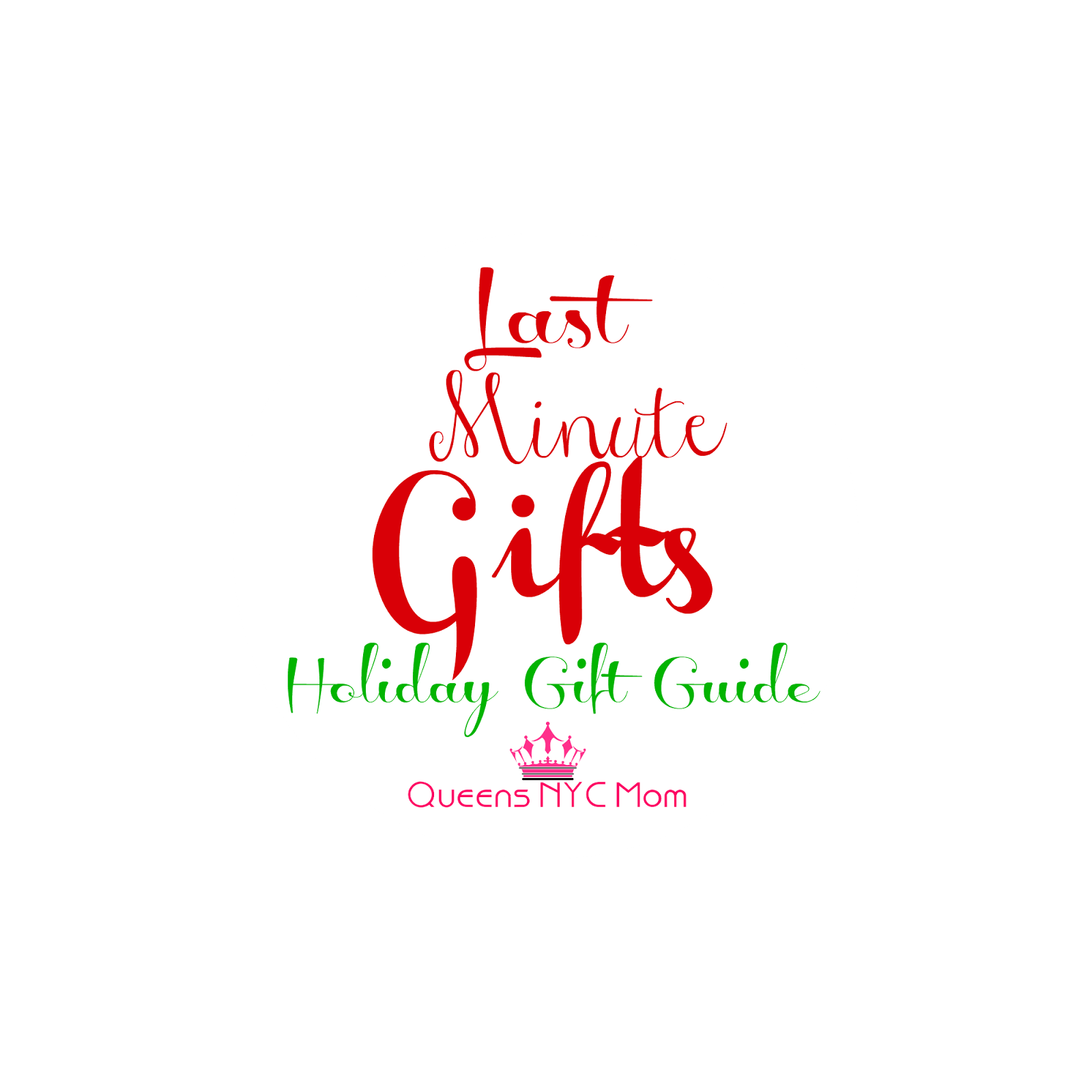 Last minute gifts holiday gift guide hgg queensnycmom for Week end last minute