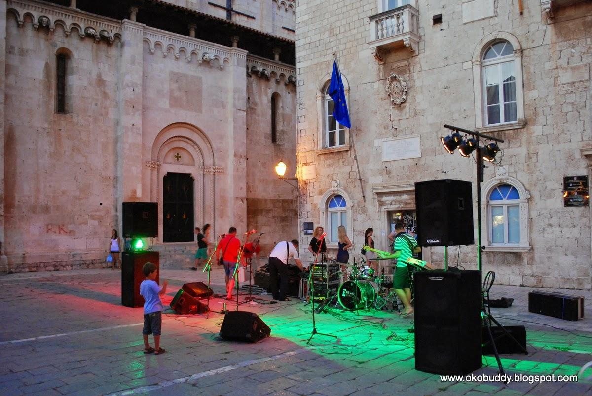 Trogir - market sqare