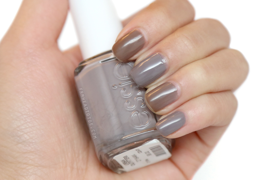 Manicure Monday: Essie Chinchilly - From Head To Toe