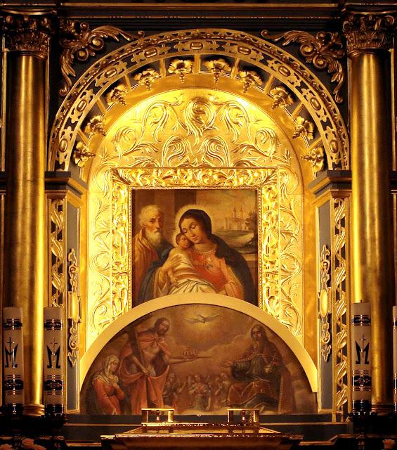 Odsłonięcie obrazu Matki Boskiej Chorzelowskiej, sanktuarium w Chorzelowie 2010 r. Fot. M. Brzeziński.