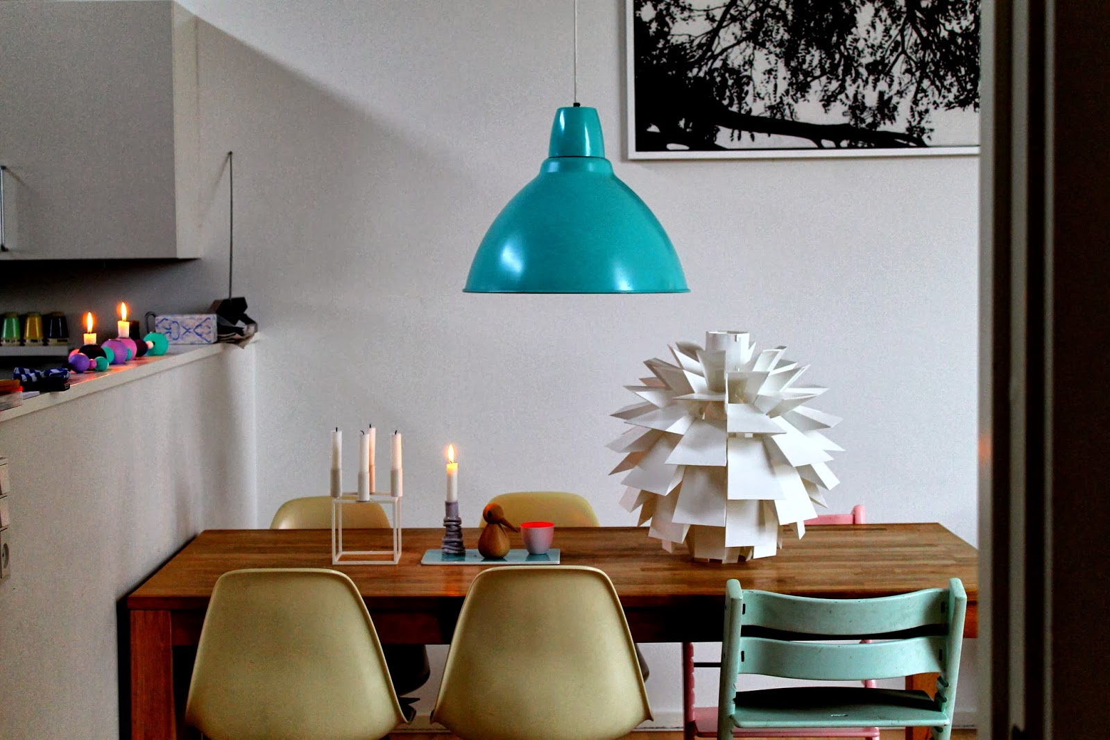 Mamalola.dk: Ny lampe i stuen....