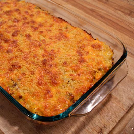 Recipe for butternut squash pasta bake
