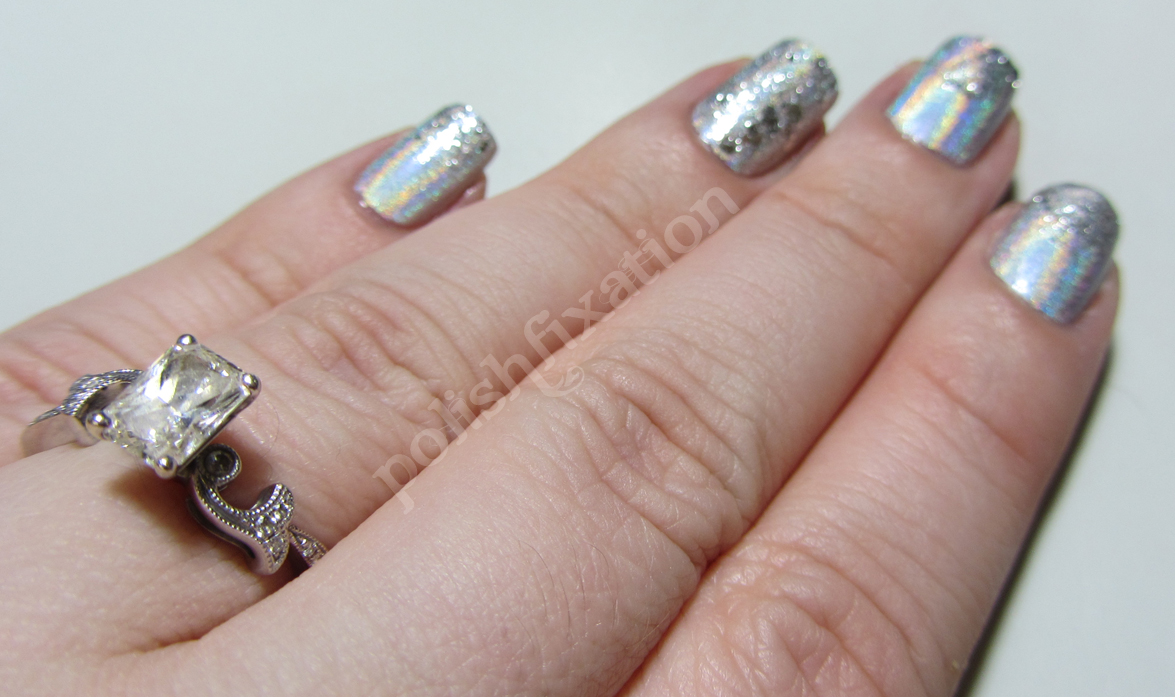 polish fixation: Engagement Photo Shoot nails!