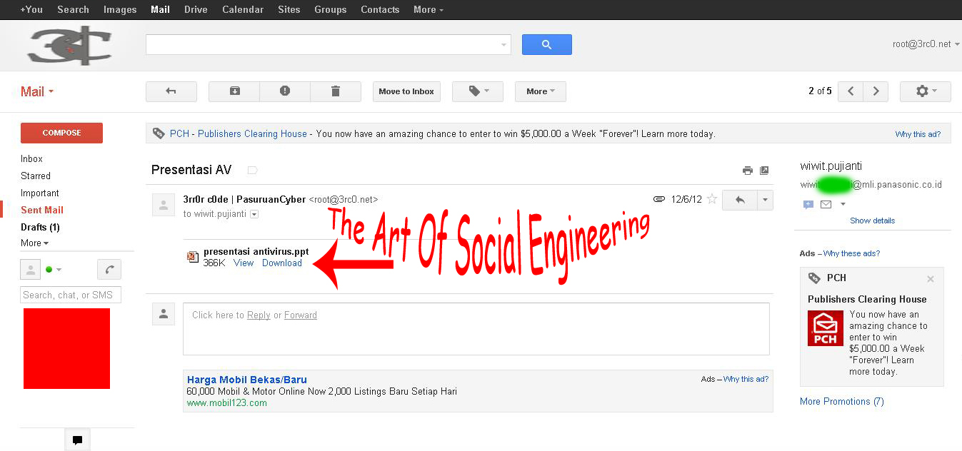 The Art Of Social Engineering