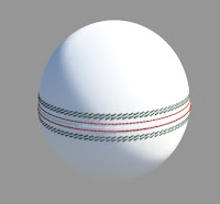 cricket ball 3d free fbx 3ds max c4d