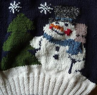 sweter na Boże Narodzenie